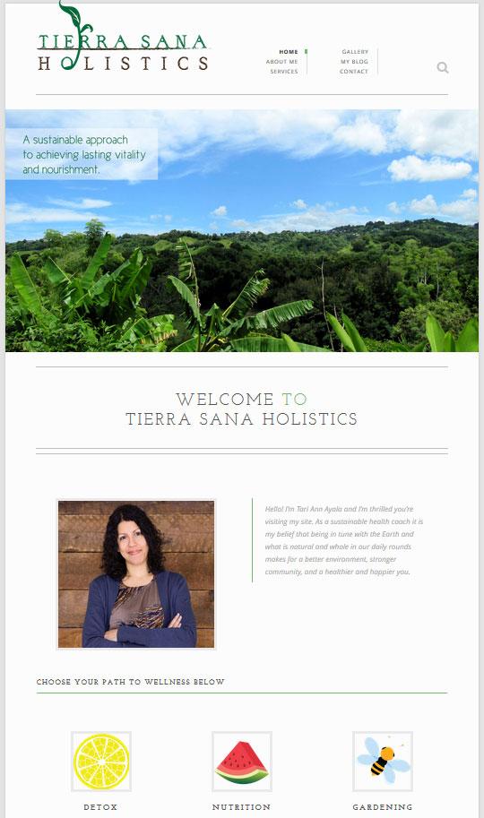 Tierra-Sana-Holistics-Website